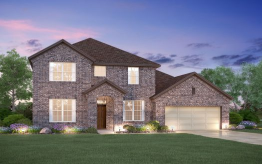 M/I Homes Lilyana subdivision 1401 Snapdragon Court Prosper TX 75078