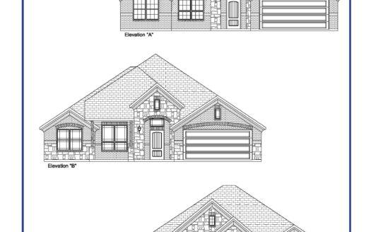 Altura Homes Eagle Ridge subdivision 109 Landsdale Forney TX 75126