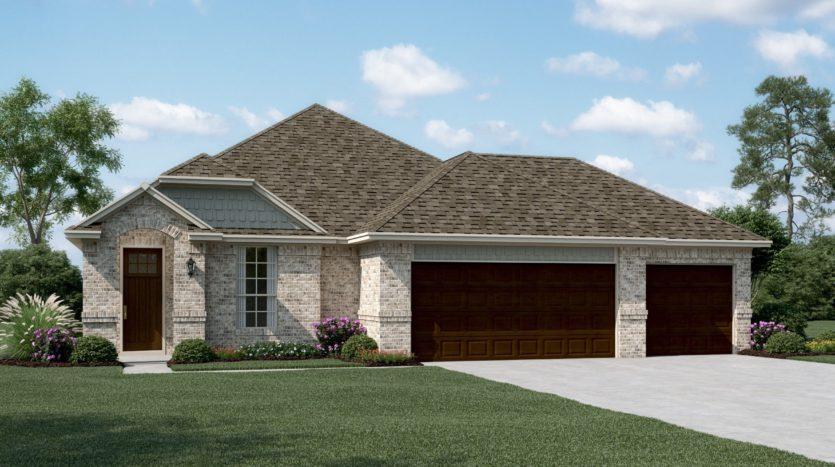 K. Hovnanian® Homes Ascend at Diamond Creek Estates subdivision 534 Tuscany Drive Forney TX 75126