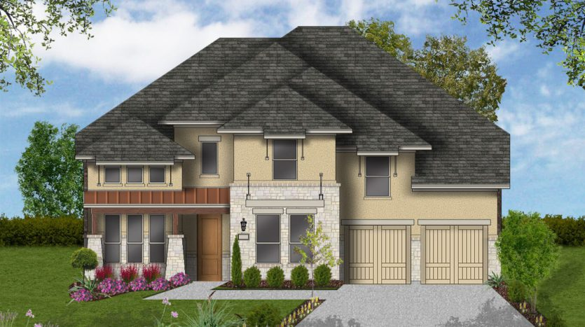 Coventry Homes Canyon Falls subdivision 204 Big Sky Cr Argyle TX 76226