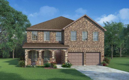 HistoryMaker Homes Twin Hills subdivision 7218 Rustic Rock Arlington TX 76001