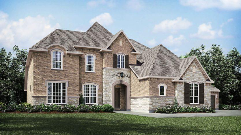 Drees Custom Homes Parkside subdivision 2220 Elm Terrace Lane Prosper TX 75078