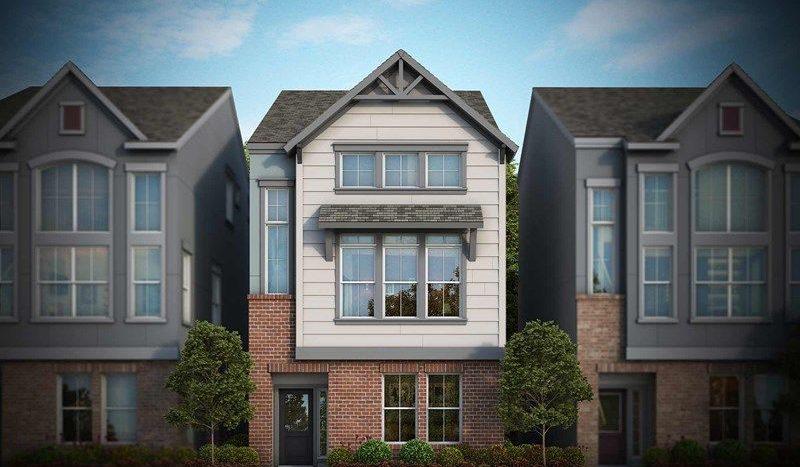 David Weekley Homes Parkside at Trinity Green - Villas subdivision 1193 Tea Olive Lane Dallas TX 75212