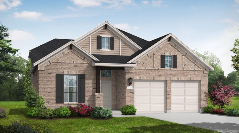 Coventry Homes Trailwood subdivision 11551 Berry Creek Ct Roanoke TX 76262