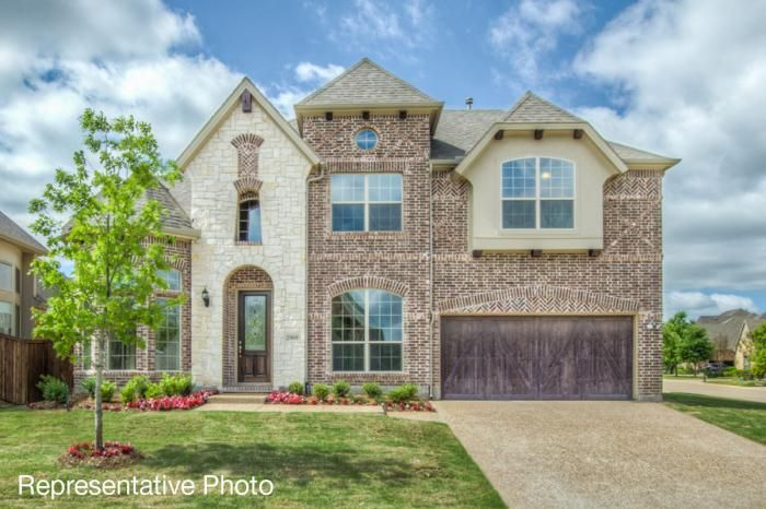 Grand Homes South Pointe subdivision 2409 Elmhurst Mansfield TX 76063
