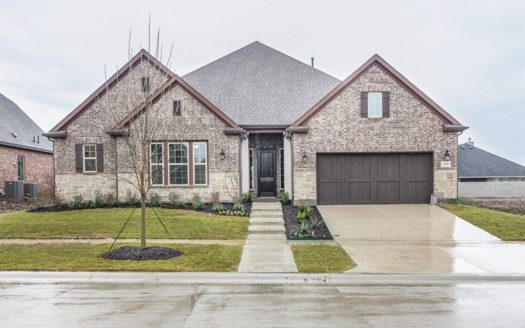 David Weekley Homes Harvest Orchard Classic subdivision 1408 17th Street Argyle TX 76226