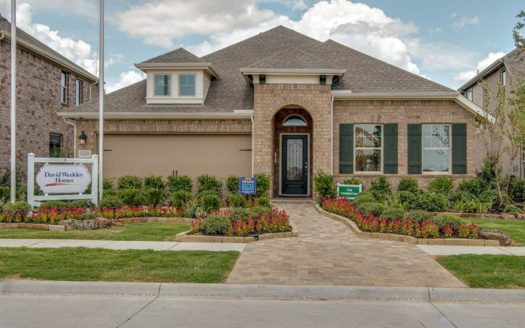 David Weekley Homes Mustang Lakes - Classic Series subdivision 2427 Preakness Place Celina TX 75009