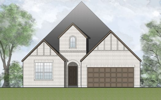 Drees Custom Homes The Preserve at Lake Forest subdivision 4837 Woodruff Lane McKinney TX 75071