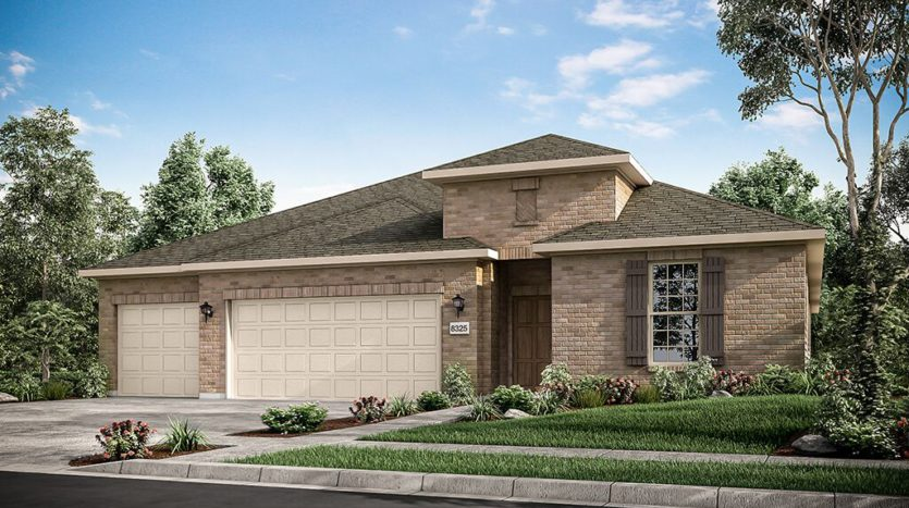 Taylor Morrison Overland Grove subdivision 1112 Garden Grove Lane Forney TX 75126