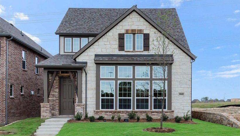 Ashton Woods Southern Hills subdivision 8413 Pine Valley Drive McKinney TX 75070