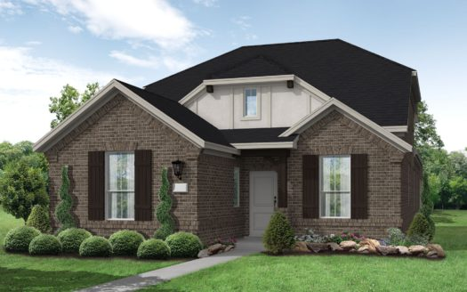 Coventry Homes Trinity Falls 40' subdivision 8325 Oak Island Trail McKinney TX 75071