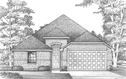 Shaddock Homes Estates at Rockhill - Phase 3 subdivision 697 Gannon Heights Little Elm TX 75068