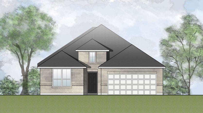 Drees Custom Homes The Preserve at Lake Forest subdivision 4848 Woodruff Lane McKinney TX 75071