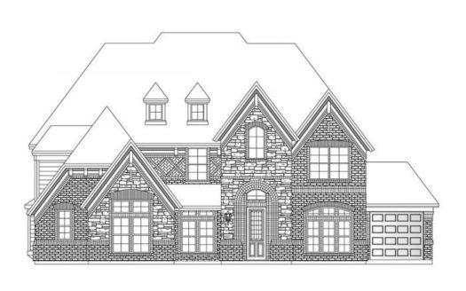 Grand Homes South Pointe subdivision 2409 Elmhurst Mansfield TX 76063