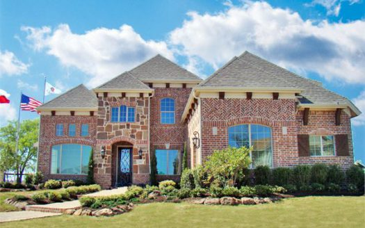 Grand Homes Wellspring Estates subdivision 2804 Fountain Park Drive Celina TX 75009