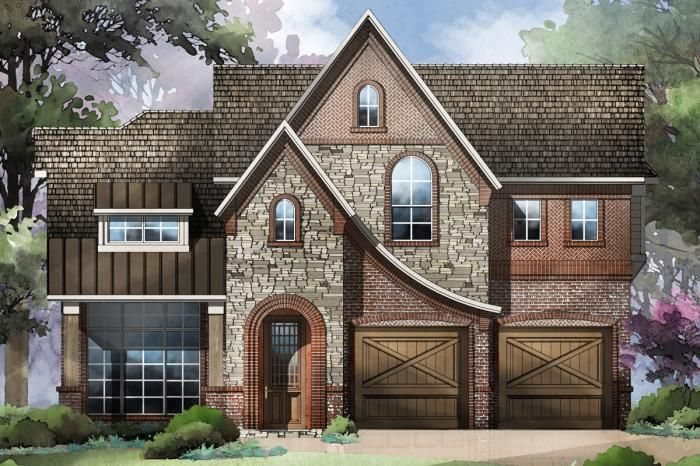 Grand Homes Lake Forest subdivision 4916 Meadow Creek Dr McKinney TX 75070