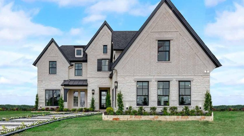 Grand Homes Cedar Ridge Estates subdivision 7546 Ridgedale Grand Prairie TX 75054