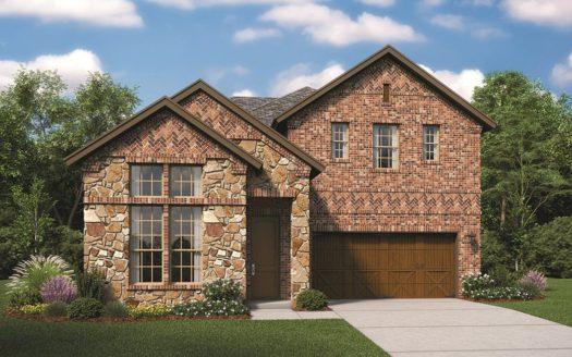 Lennar Estancia subdivision 3420 Begonia Lane Irving TX 75038