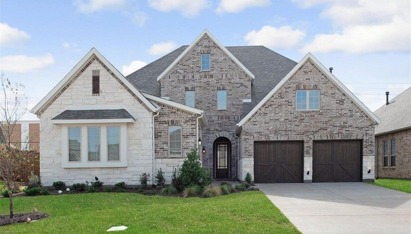 Ashton Woods Southern Hills subdivision 8308 Cottage Drive McKinney TX 75070