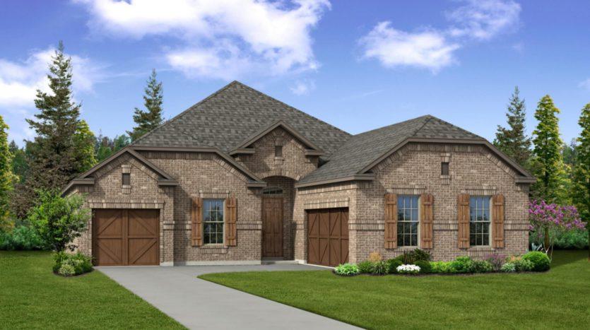 Trendmaker Homes Valencia on the Lake subdivision 13508 Cortes De Pallas Drive Little Elm TX 75068