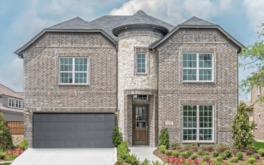 Landon Homes Canyon Falls subdivision 200 Big Sky Circle Northlake TX 76262