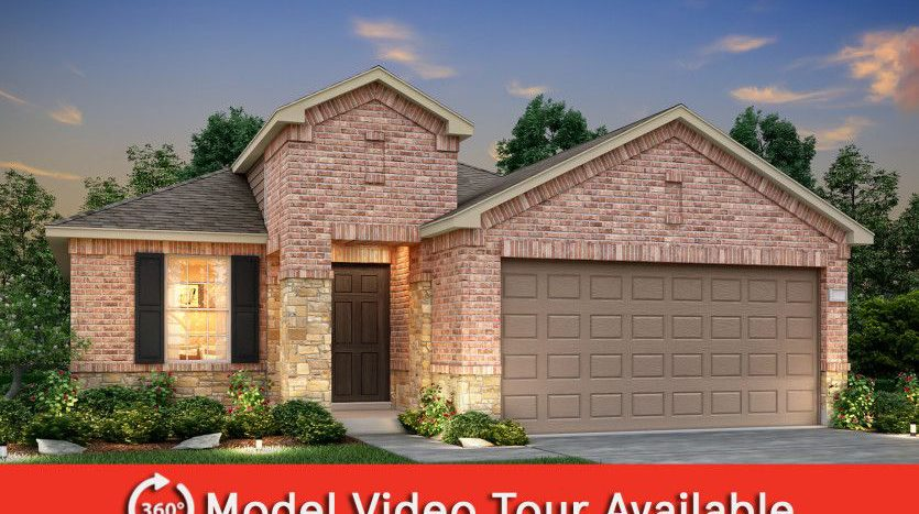 Centex Homes Winn Ridge subdivision 2913 Aslynn Circle Aubrey TX 76227