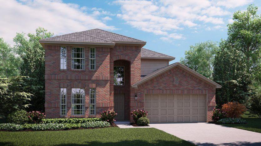 Lennar Hillstone Pointe 40s & 50s subdivision 2325 Astapor Drive Little Elm TX 75068