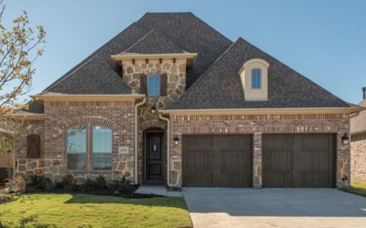 Taylor Morrison Waterford Point at the Tribute subdivision 7825 Kentmere Drive The Colony TX 75056