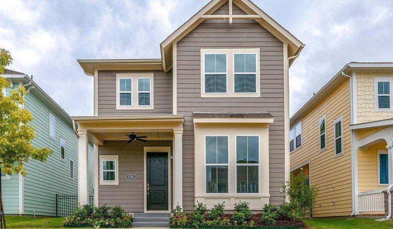 David Weekley Homes HomeTown Garden subdivision 8866 Mandalay North Richland Hills TX 76180
