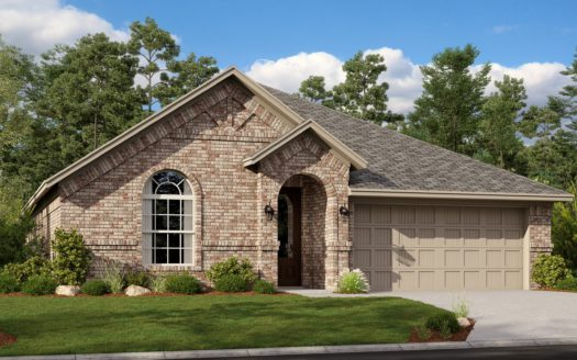 Lennar Hills of Crown Ridge subdivision 10320 Bloom Drive Frisco TX 75035