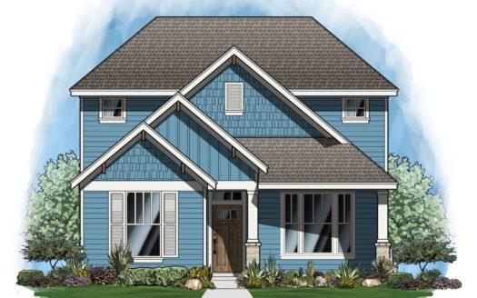 Landon Homes Magnolia Landing subdivision 3717 Hickox Rd Rowlett TX 75089