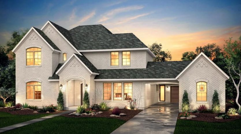 Risland Homes Legacy Gardens subdivision 1410 Beverly Drive Prosper TX 75078