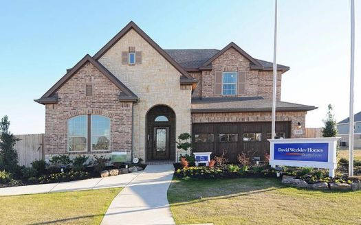 David Weekley Homes Harvest Gardens subdivision 1104 Homestead Way Argyle TX 76226