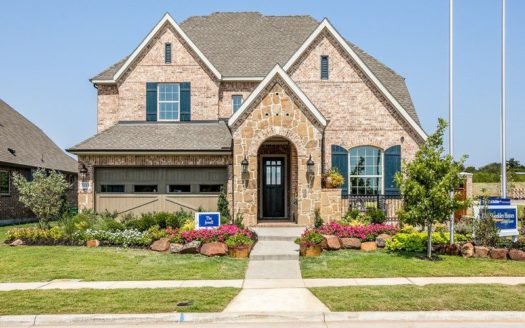 David Weekley Homes Highland Court Cottage subdivision 3154 Perth Drive Flower Mound TX 75028