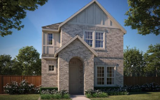 Normandy Homes Villas at Southgate subdivision 896 Deer Run Road Flower Mound TX 75028