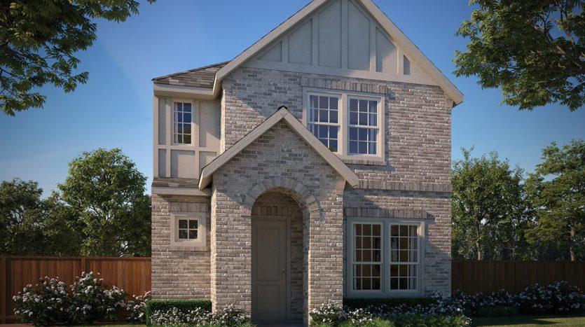 Normandy Homes Villas at Southgate subdivision 896 Deer Run Road Flower Mound TX 75028