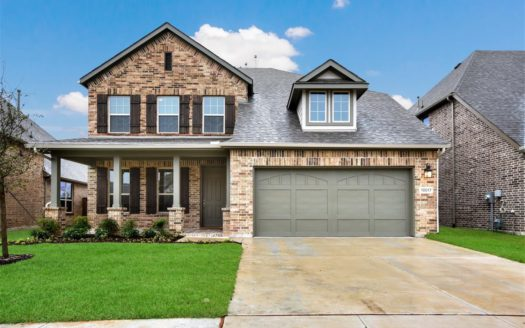 Ashton Woods Western Ridge subdivision 6936 Copperhead Trail North Richland Hills TX 76182