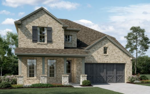 K. Hovnanian® Homes Calloway Trails subdivision 1600 Spanish Bay Court Little Elm TX 75068