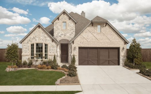 Trendmaker Homes Lakeside Estates at Paloma Creek subdivision 612 Lake Cove Drive Little Elm TX 75068