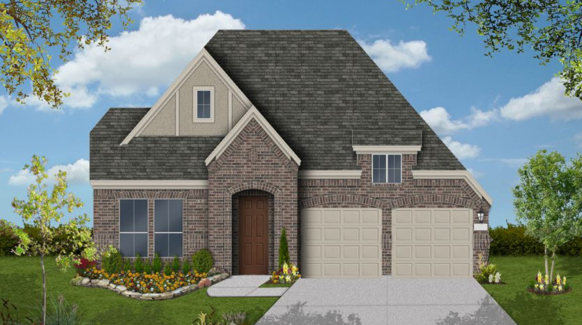 Coventry Homes The Ridge subdivision 2645 Basswood Dr Northlake TX 76226