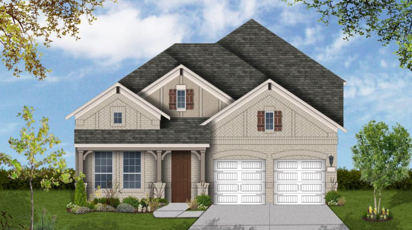 Coventry Homes South Pointe Manor Series subdivision 3202 Carrington Dr Mansfield TX 76063