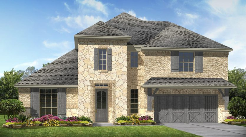 K. Hovnanian® Homes Liberty subdivision 3703 Republic Trail Melissa TX 75454