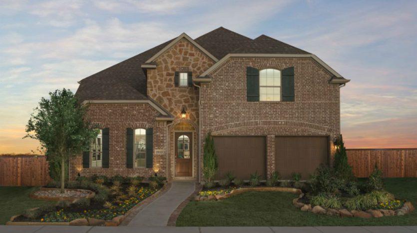 Taylor Morrison Willowcreek at Auburn Hills subdivision 2105 Nassau Drive McKinney TX 75071