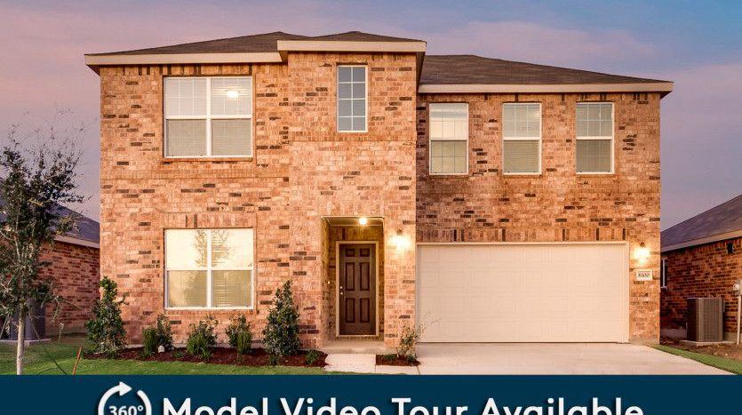 Pulte Homes Travis Ranch subdivision 2107 Silsbee Court Forney TX 75126