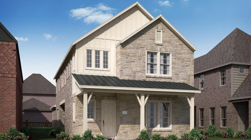 Normandy Homes Edgewood subdivision 12800 Shepherds Hill Lane Frisco TX 75035