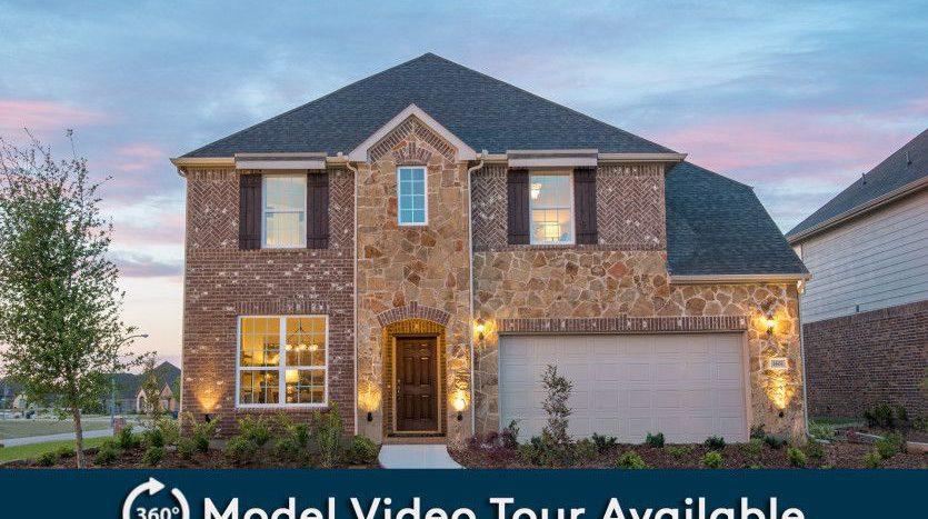 Pulte Homes Winn Ridge subdivision 2921 Aslynn Circle Aubrey TX 76227