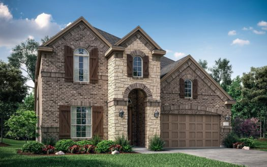 Village Builders Bradford Park 75' subdivision 5557 Winter Haven Bend Flower Mound TX 75028
