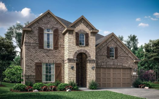 Village Builders Lakewood Hills South subdivision 1702 Brookridge Path Carrollton TX 75010