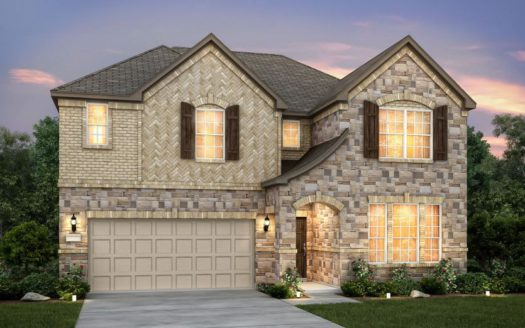 Pulte Homes Erwin Farms subdivision 3706 Roth Drive McKinney TX 75071