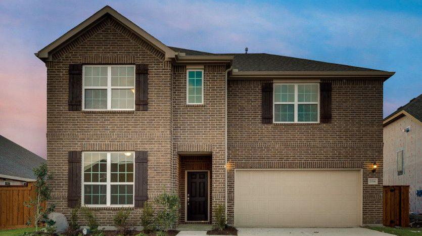 Pulte Homes Wildridge subdivision 9801 Rubicon Trail Oak Point TX 75068
